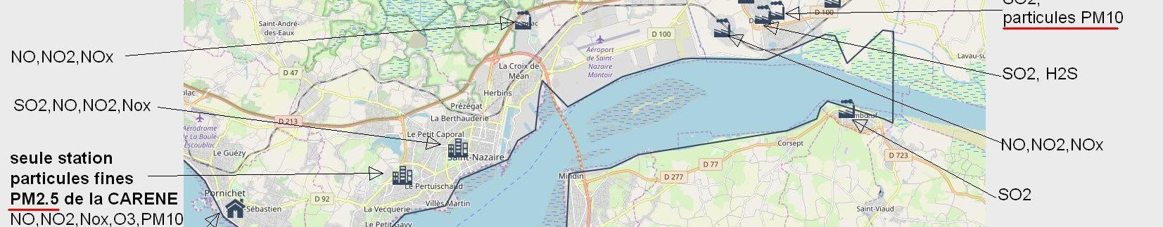 Réduire la Pollution de l'Air – Saint-Nazaire – Pornichet – La Baule