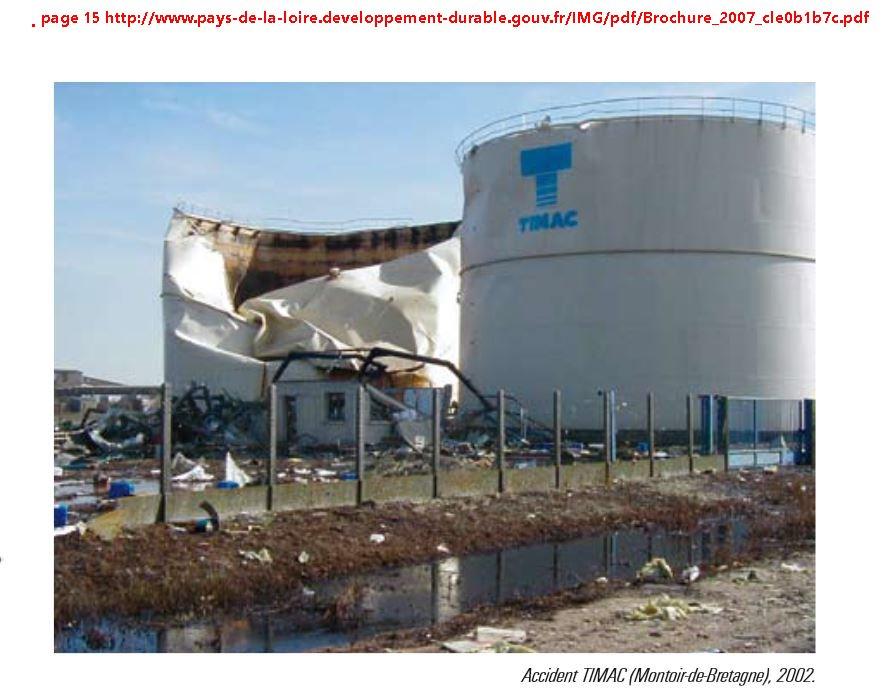 Accident TIMAC Montoir